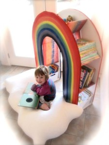DIY-A-Rainbow-Bookcase-1