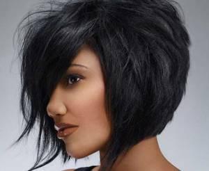Trendy-short-black-hairstyle