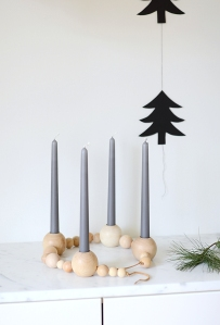 DIY beaded candle holder 2