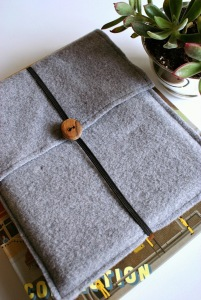 diy felt ipad case vertical