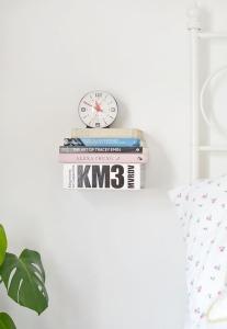 diy bedside table shelf
