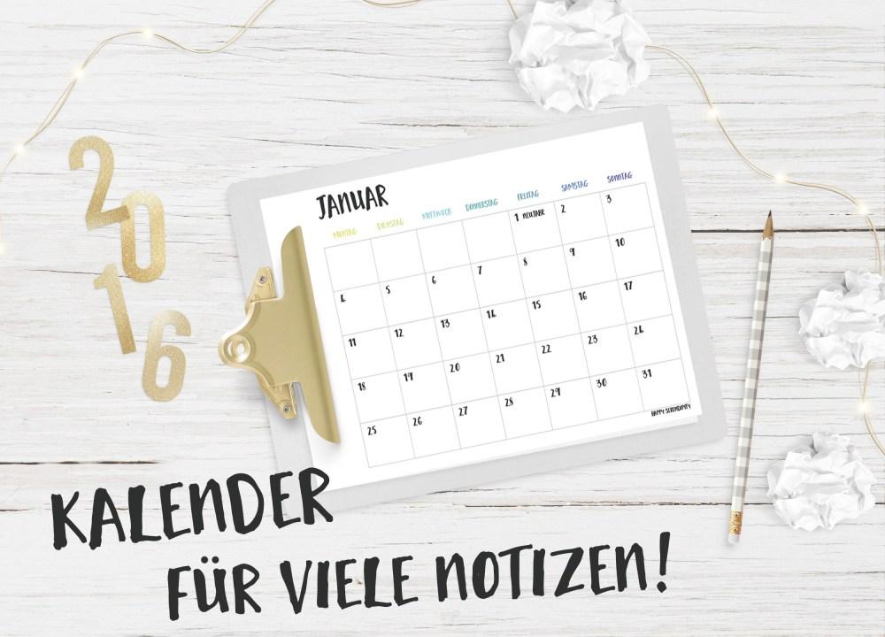 happyserendipity-2016-kalenderfuernotizen